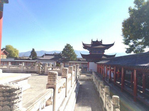 是丽江纳西族木氏土司衙门的俗称