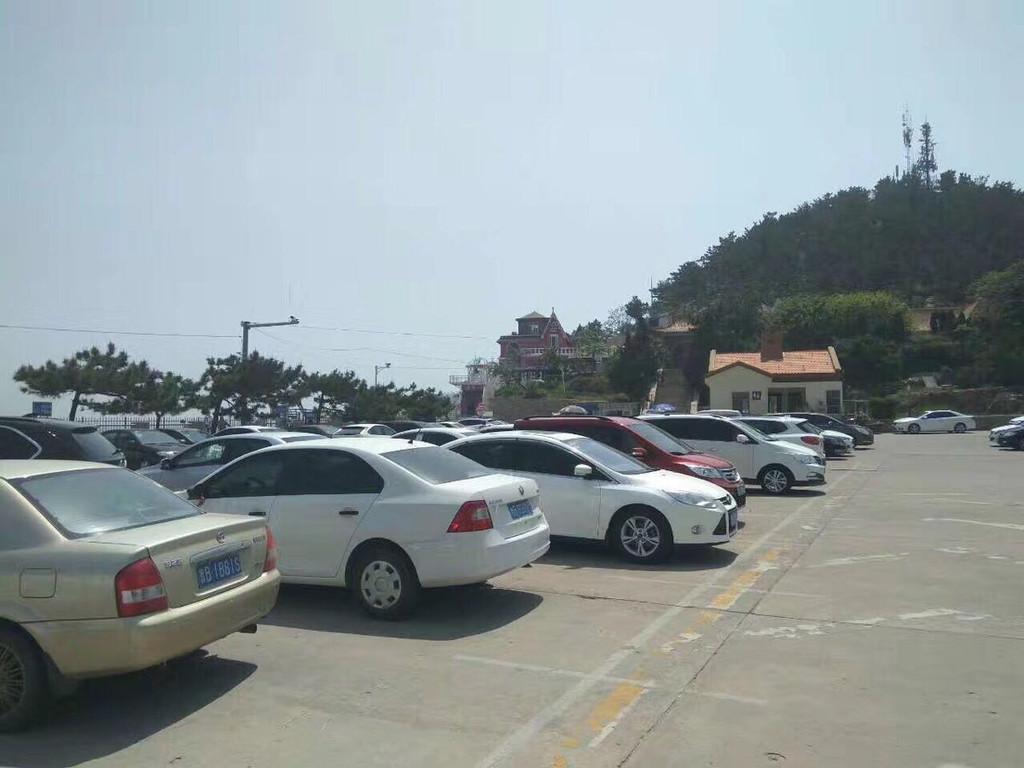 青岛崂山区流清河.