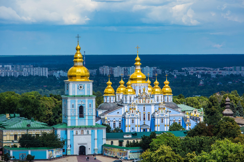 圣米迦勒金顶修道院  St Michael's Gold-Domed Monastery   -0