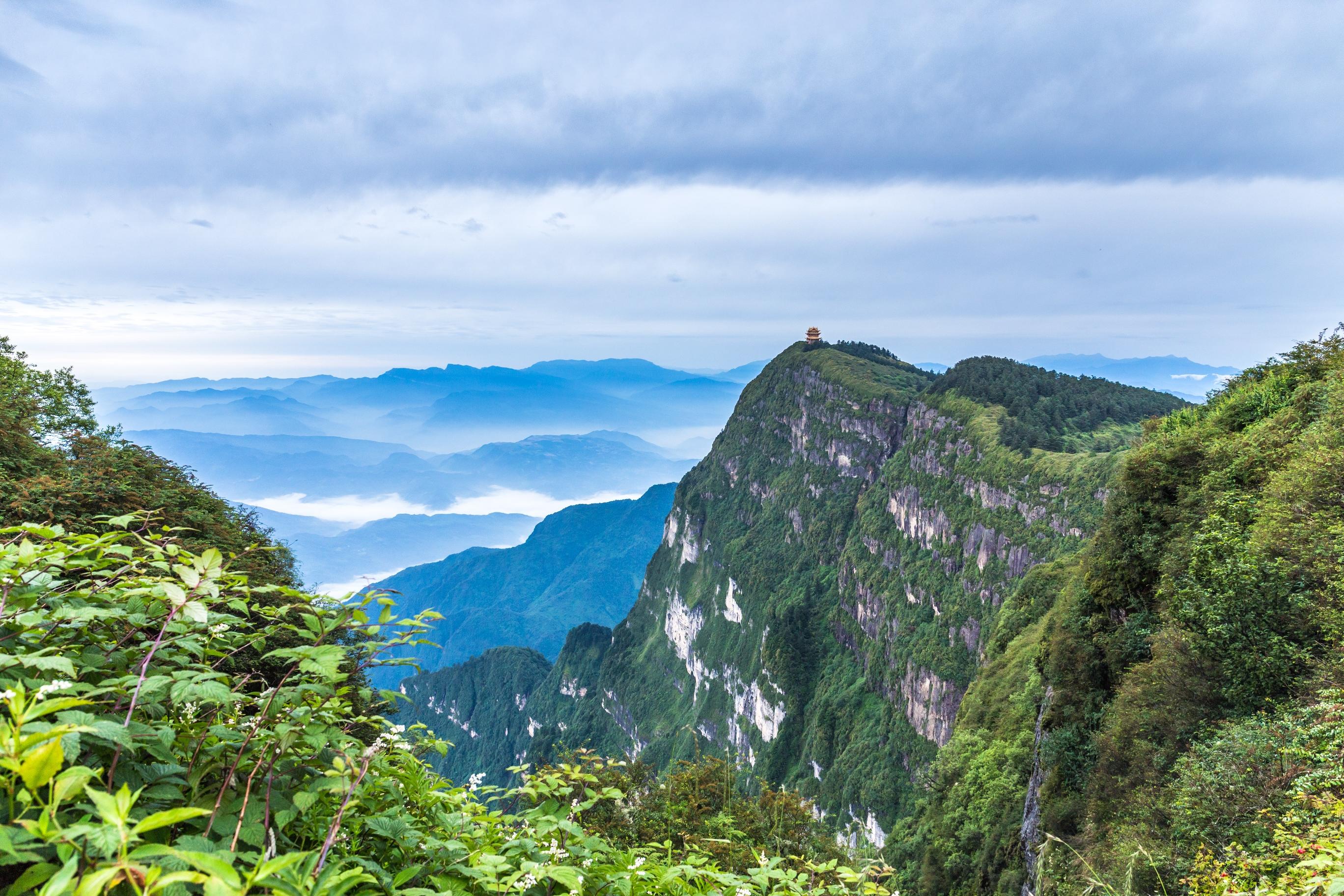 天日山风景