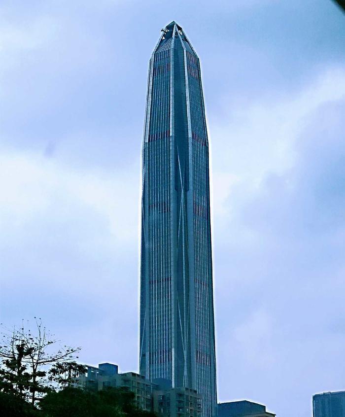 深圳第一高桉平安金融大厦