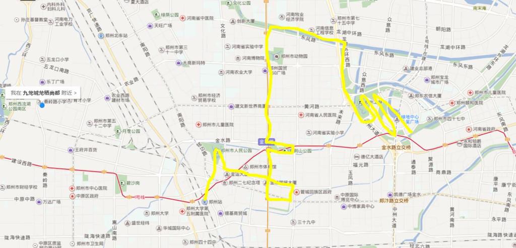 2018郑州动物园地图