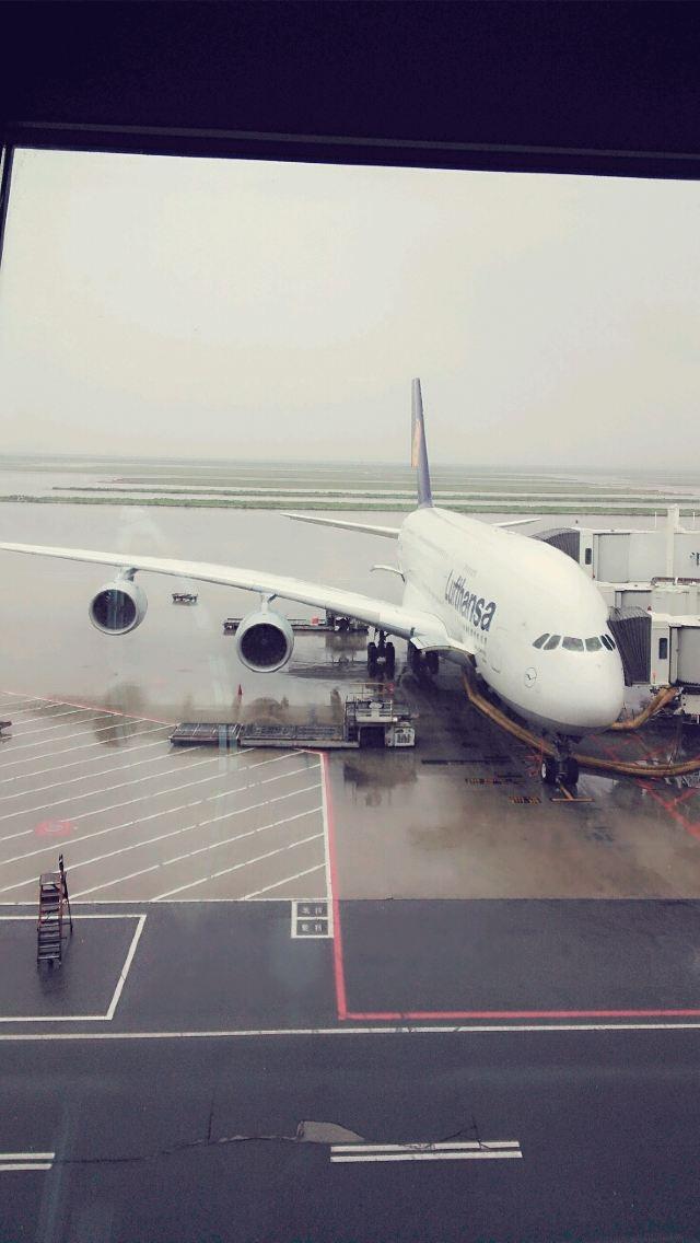 这是a380---800,是最大的飞机