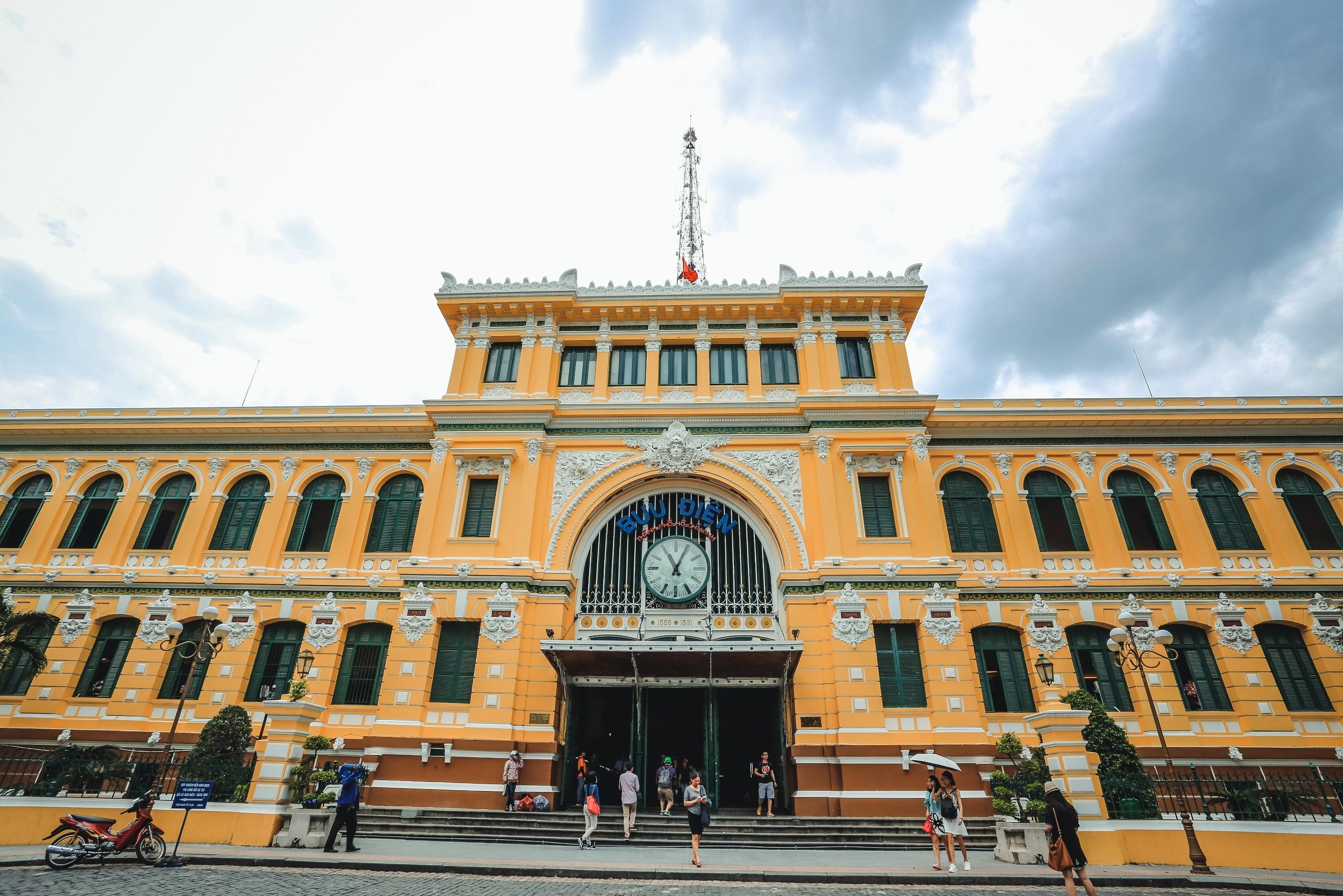 中央邮局  Central Post Office   -0