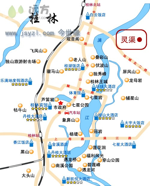 请问哪一条路线最适合冬天桂林旅游?