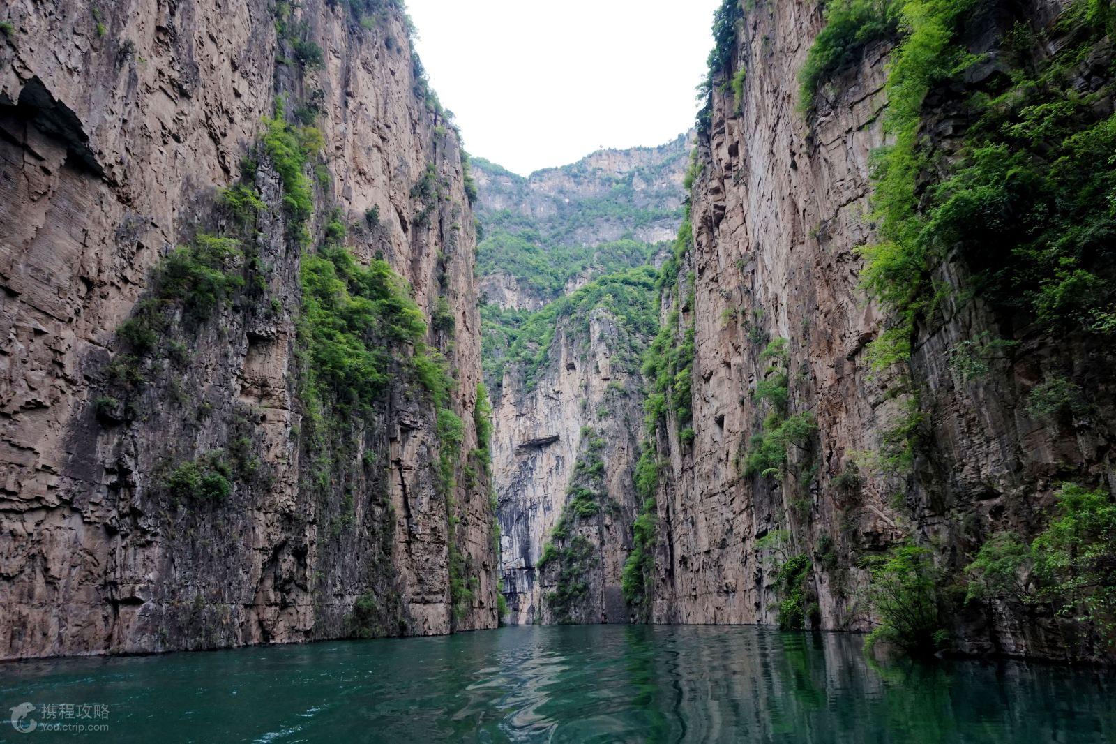 日2晚跟团游 太行山大峡谷 含八泉峡 红豆峡景区门票
