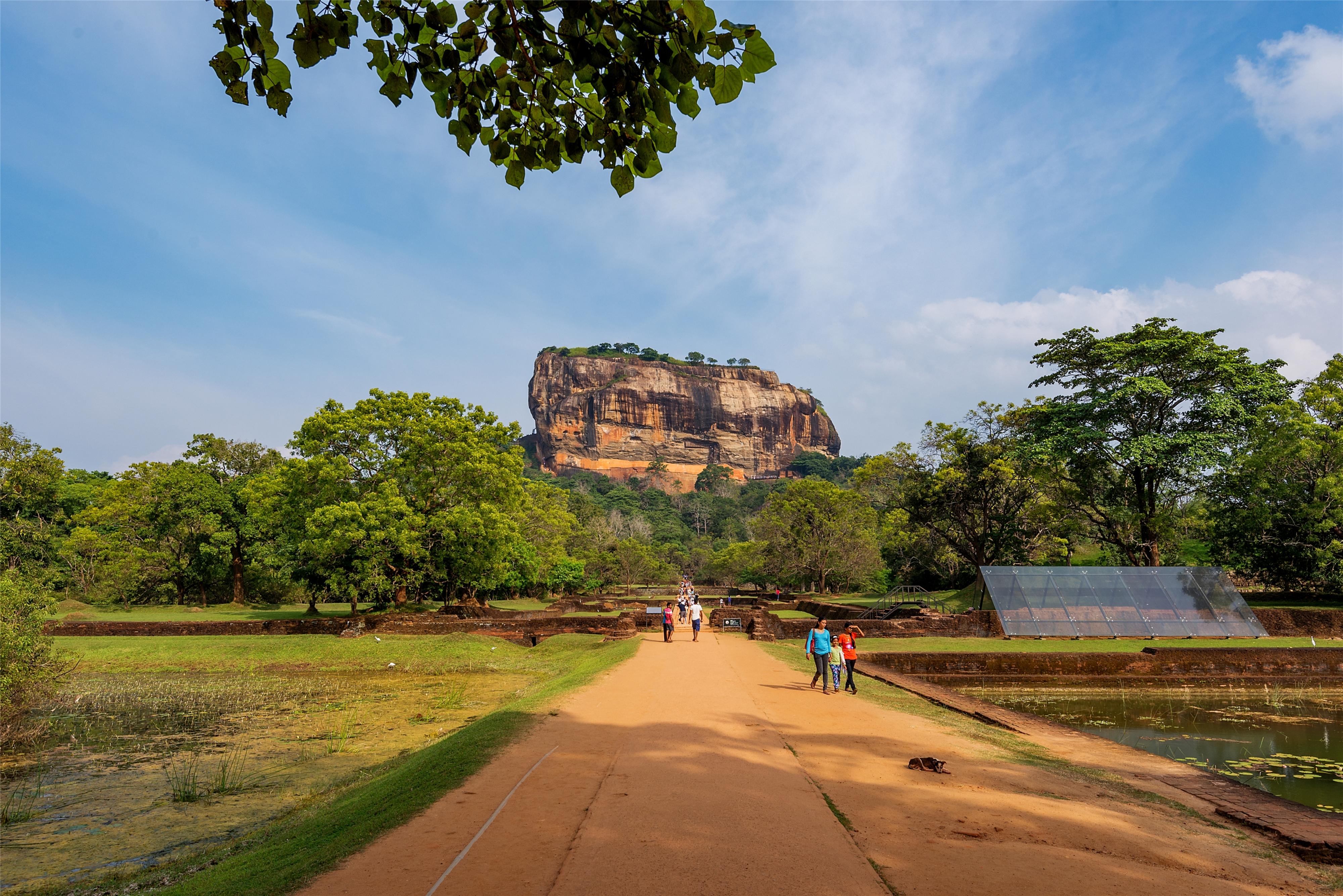 狮子岩  Sigiriya Lion Rock   -4