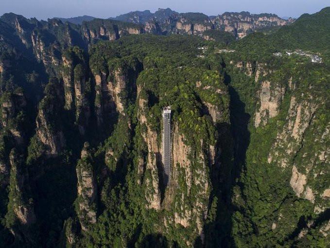张家界森林公园,大峡谷玻璃桥,天门山四日游,张家界旅游攻略图片