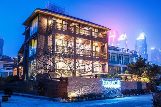 【携程攻略】青岛伊美萝薇海景别墅酒店预订价格,地址