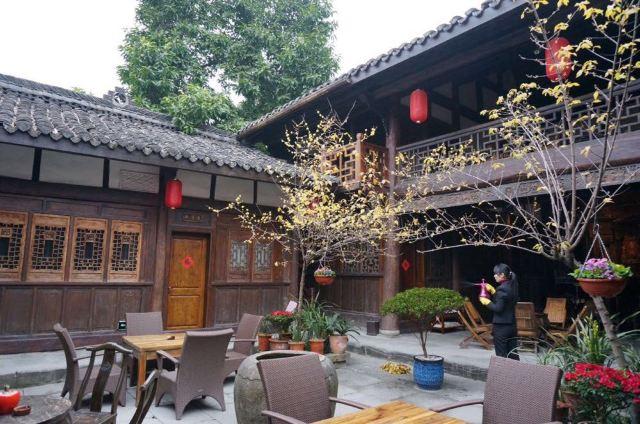 春节老人的家乡
