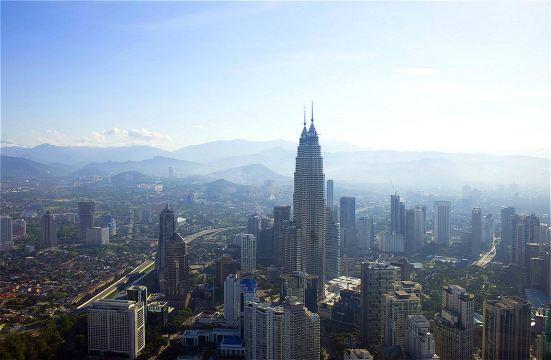 【吉隆坡塔观景台】 尽管没有双子塔有名气
