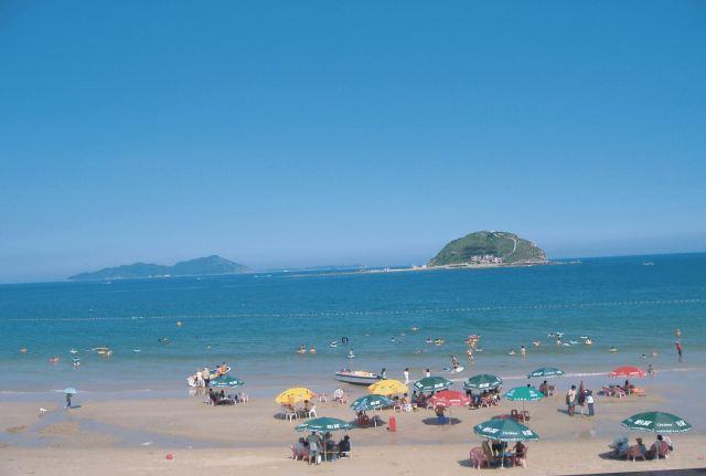 离沙滩仅5分钟,与情人岛,南沙海滨浴场记忆朱家尖国际沙雕广场等景点