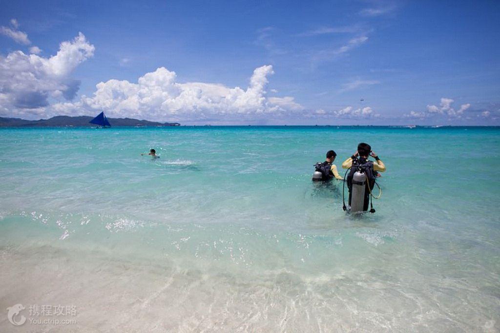 菲律宾长滩岛5日4晚跟团游·直飞浪漫长滩螃蟹船浮潜