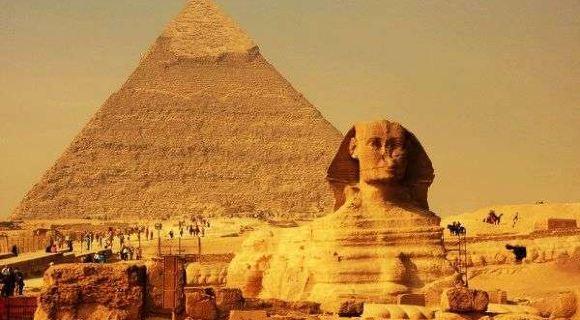 揭秘古埃及金字塔 狮身人面像真实主人