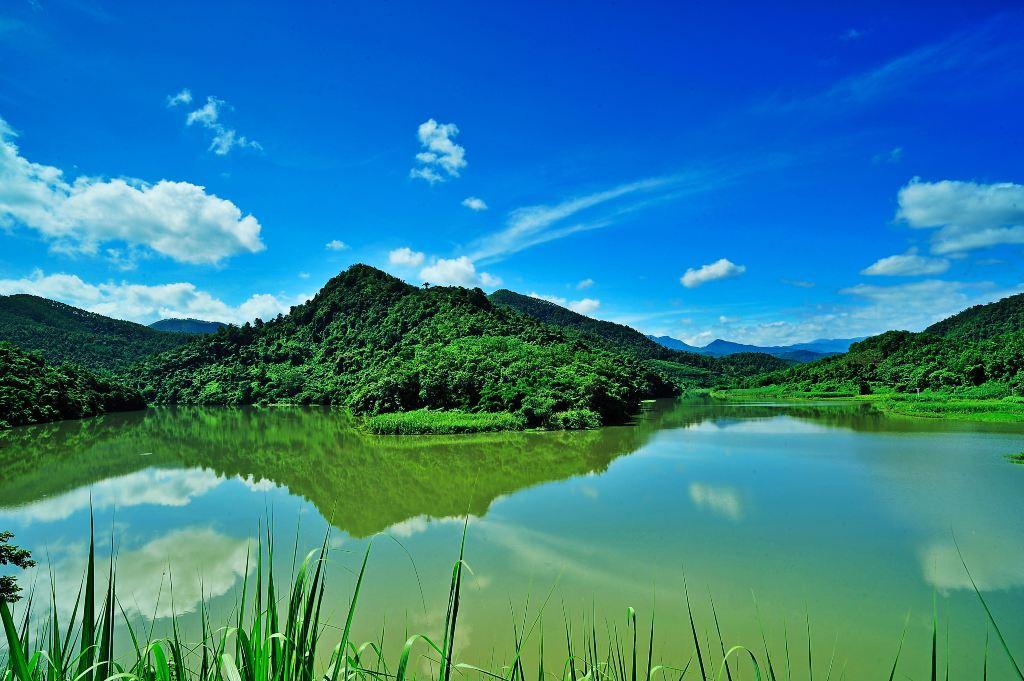 一生一世的爱恋,在海南木棉湖