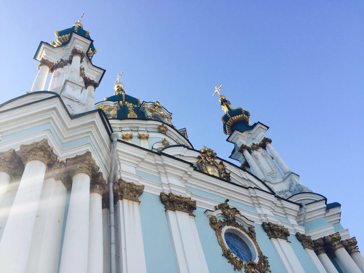 基辅圣安德烈教堂  St Andrew's Church   -1