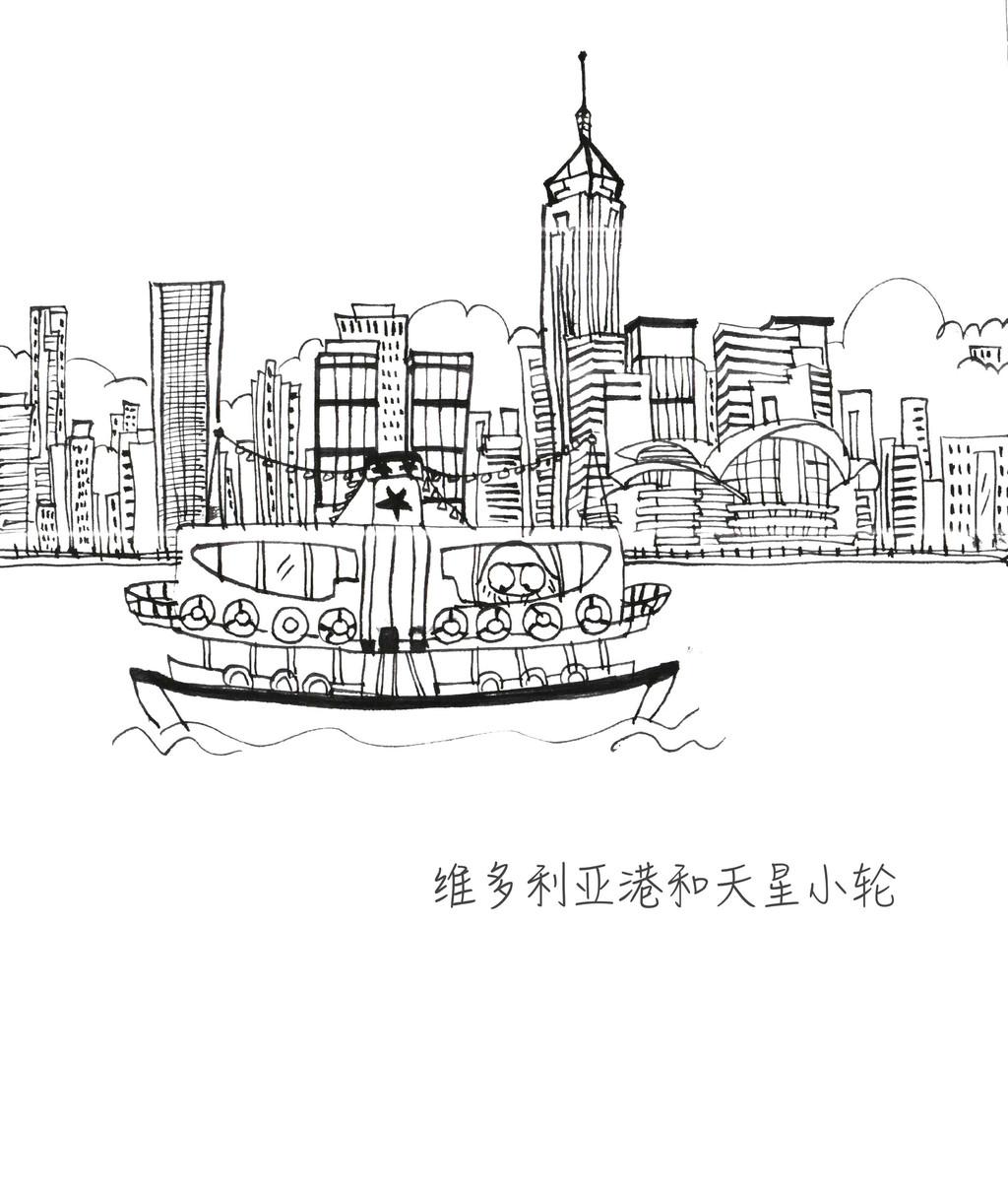 简笔画 手绘 线稿 1024_1208