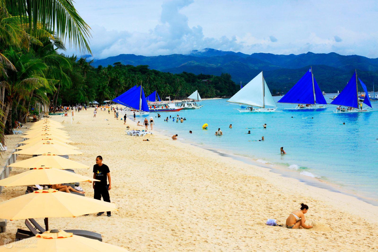菲律宾长滩岛5日4晚半自助游(4钻)·国庆预售
