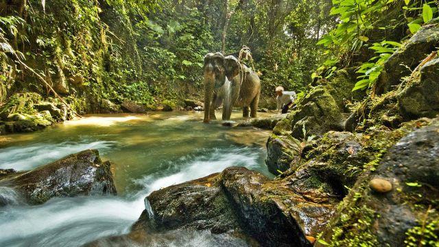 也是泰国第一座海洋国家公园.