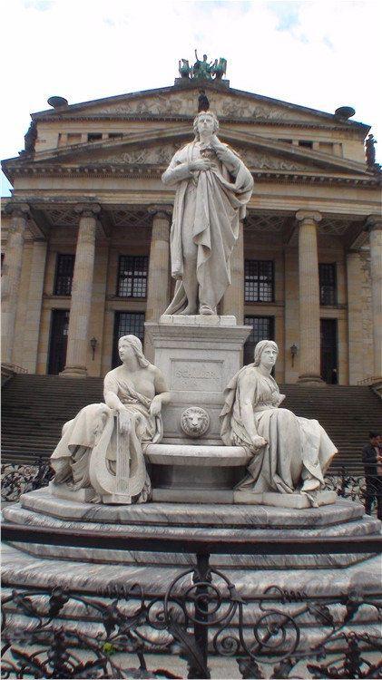 柏林宫廷剧院手绘