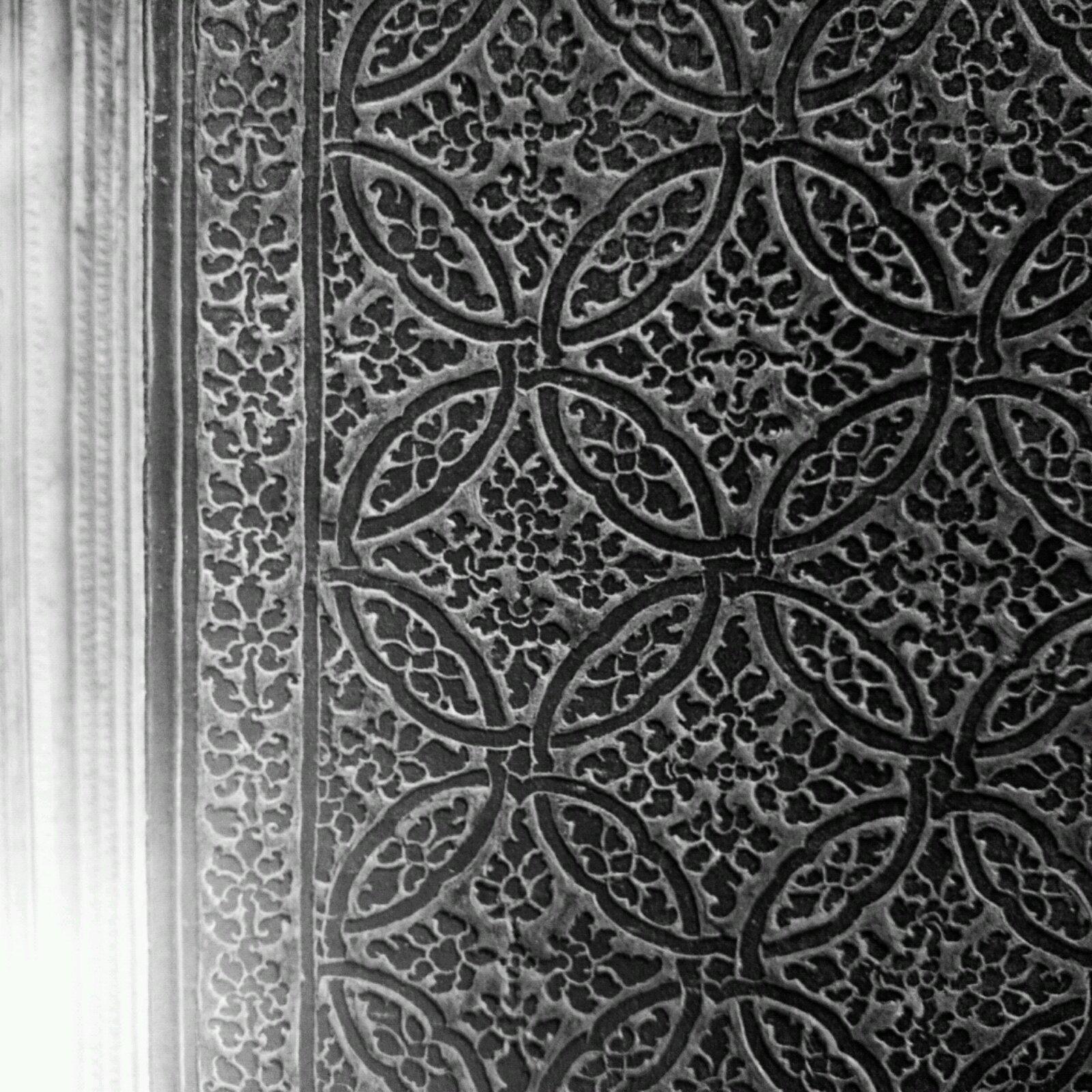 像编织的地毯花纹