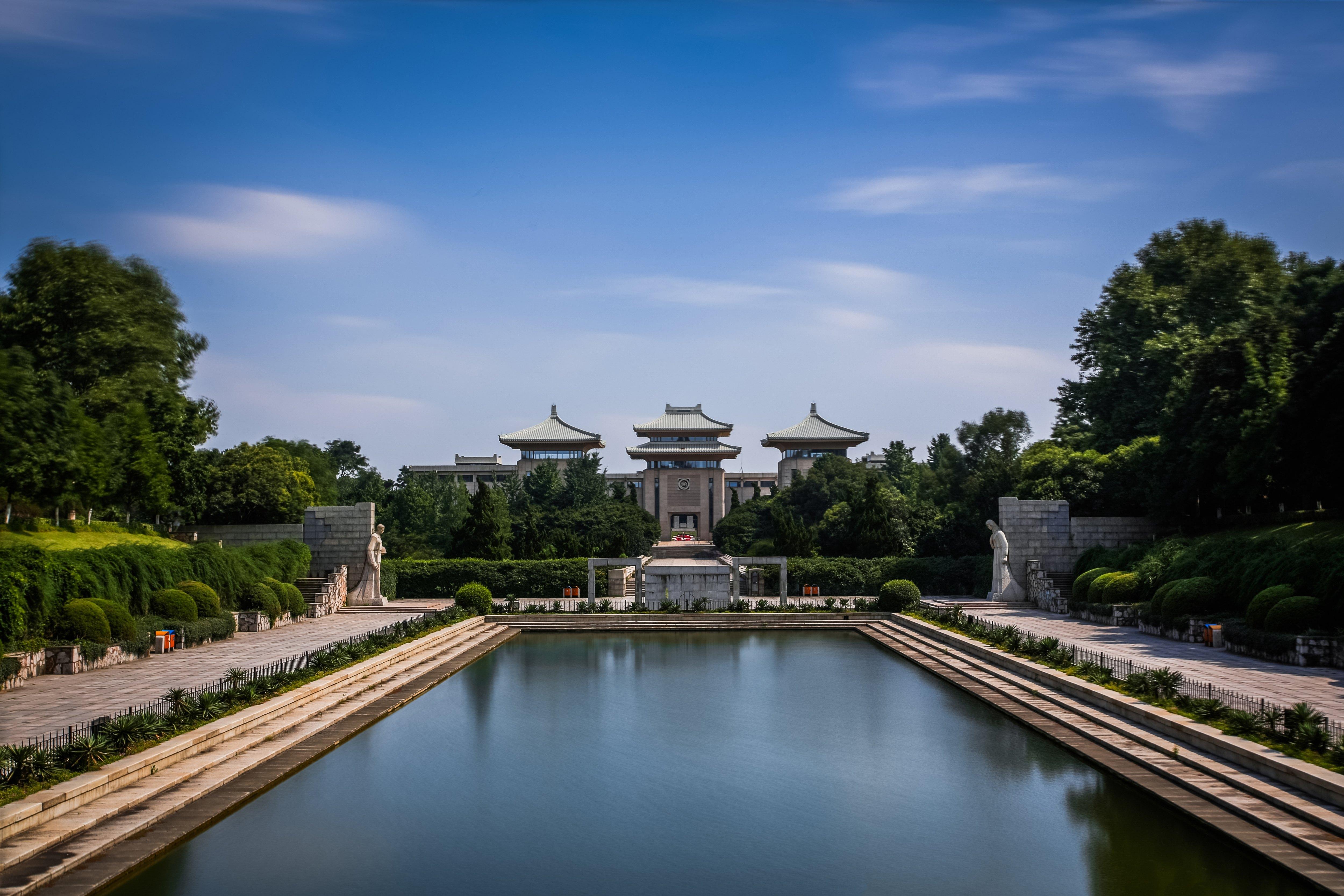 请问南京中山陵 夫子庙 玄武湖 总统府四个景点怎样游览好图片