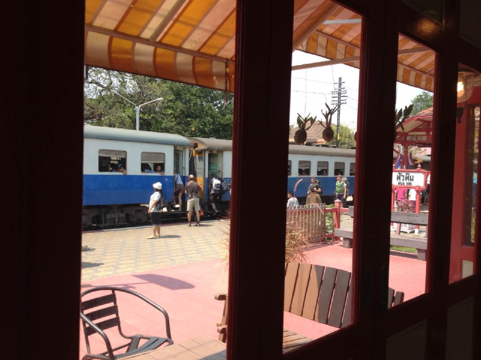 希尔顿华欣度假村 44泰铢的火车票