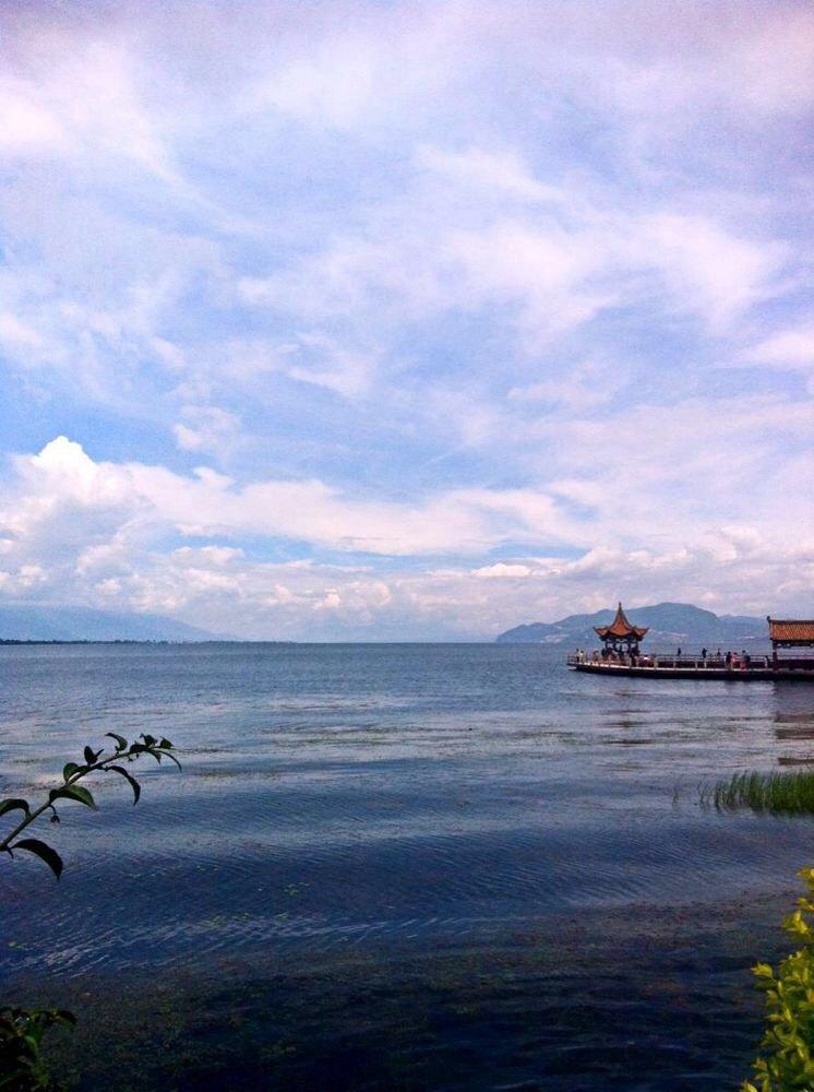 丽江洱海图片风景图片