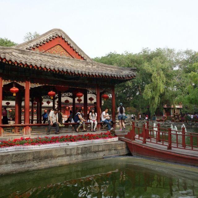 下午自由活动:恭王府——什刹海——北海公园 北京金融街洲际酒店 什