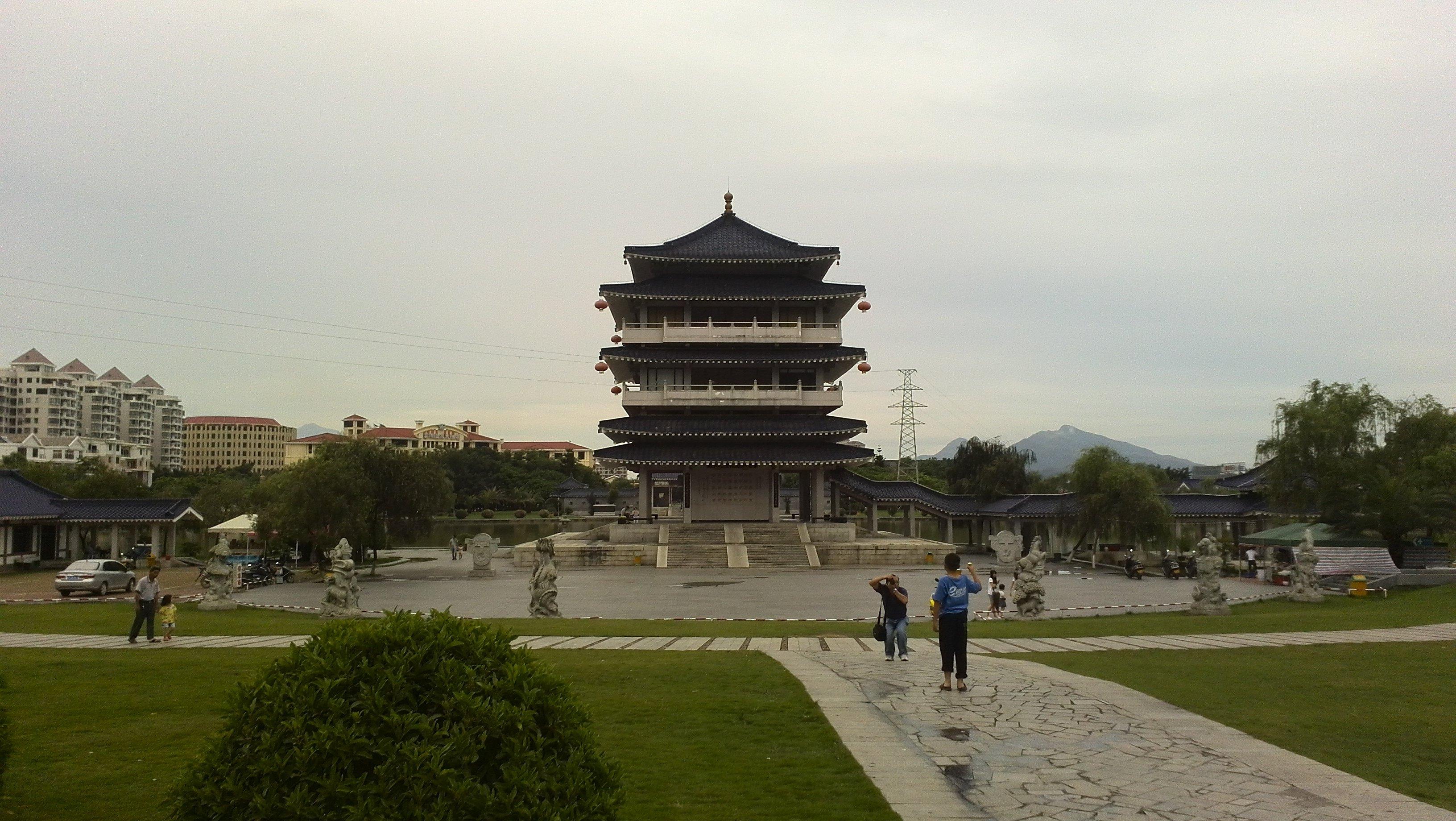 将军山公园位于云霄县城西侧