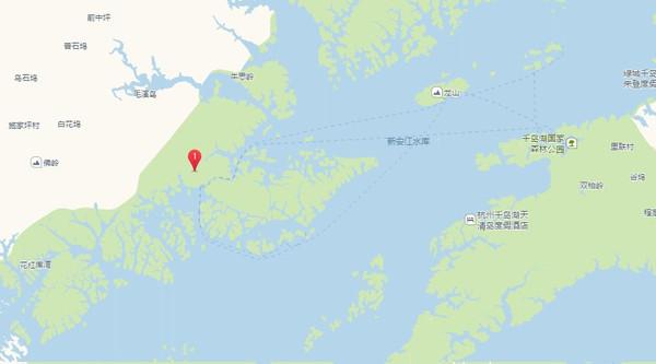 环湖十二镇地图