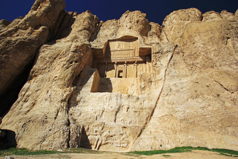 波斯帝陵和薩珊浮雕  Naqsh-e Rostam   -3