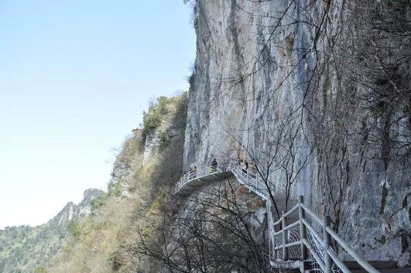 八台山景区是位于万源市八台乡,这里距离张爱萍故居和凤凰山大约都有