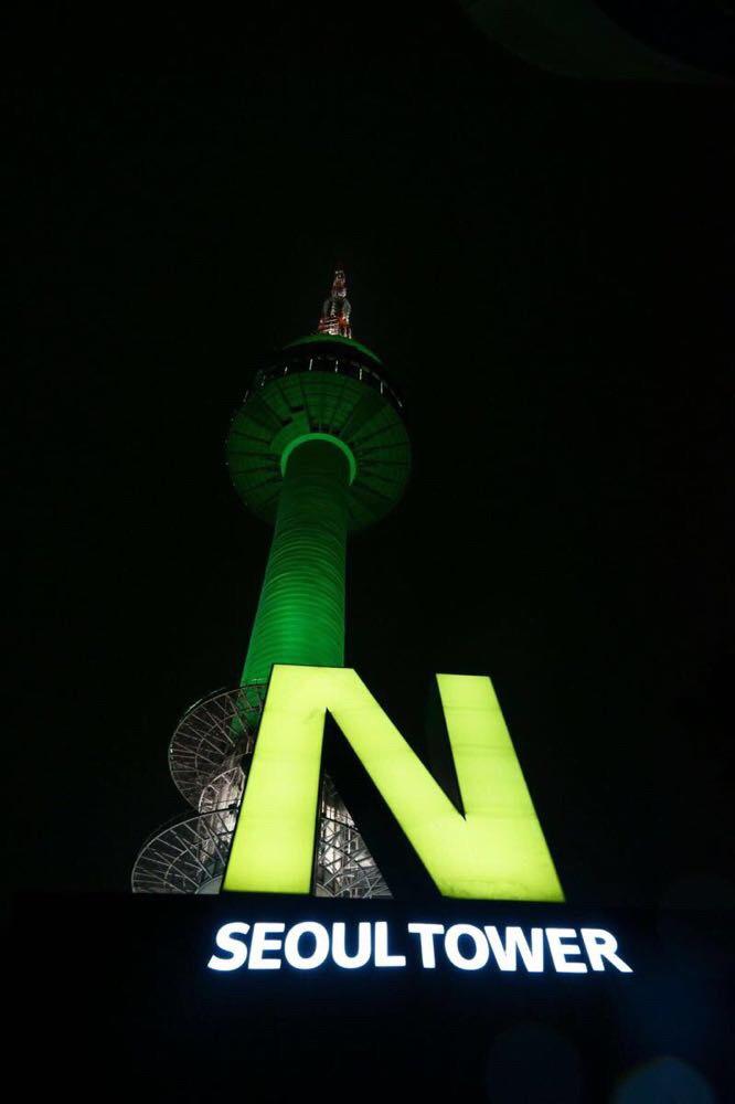 南山塔是首尔最高电视信号塔,这里也成为全世界情侣必到的地方,因为