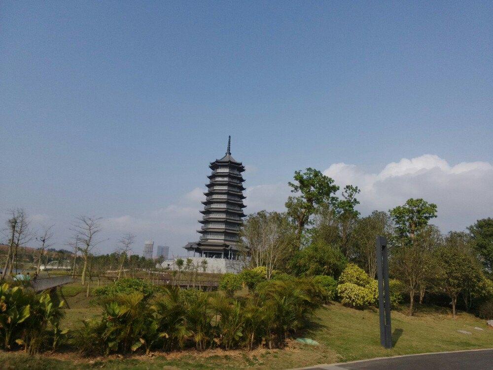 南宁有个铁塔的公园
