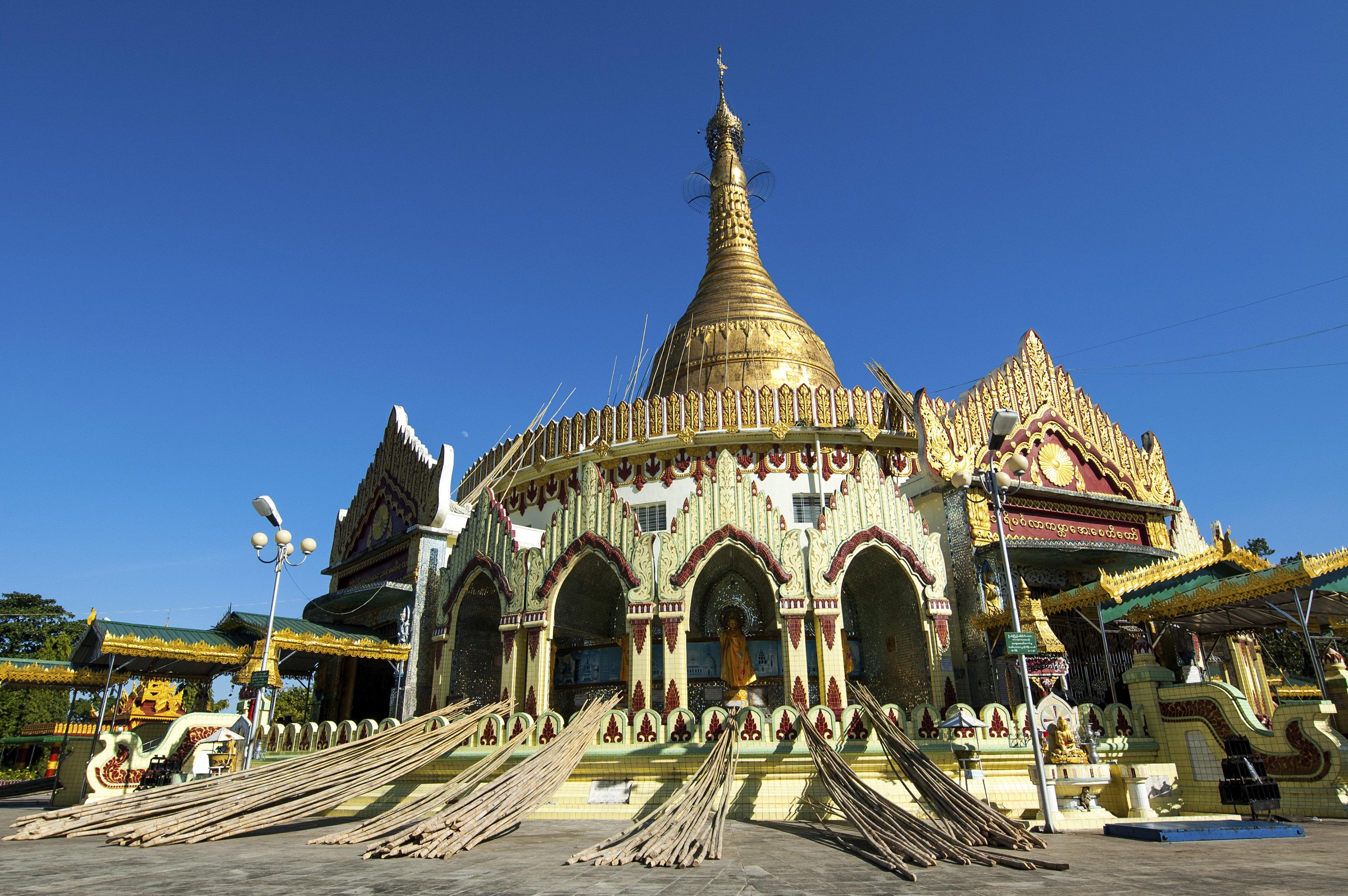 世界和平塔  Kabar Aye Pagoda   -4