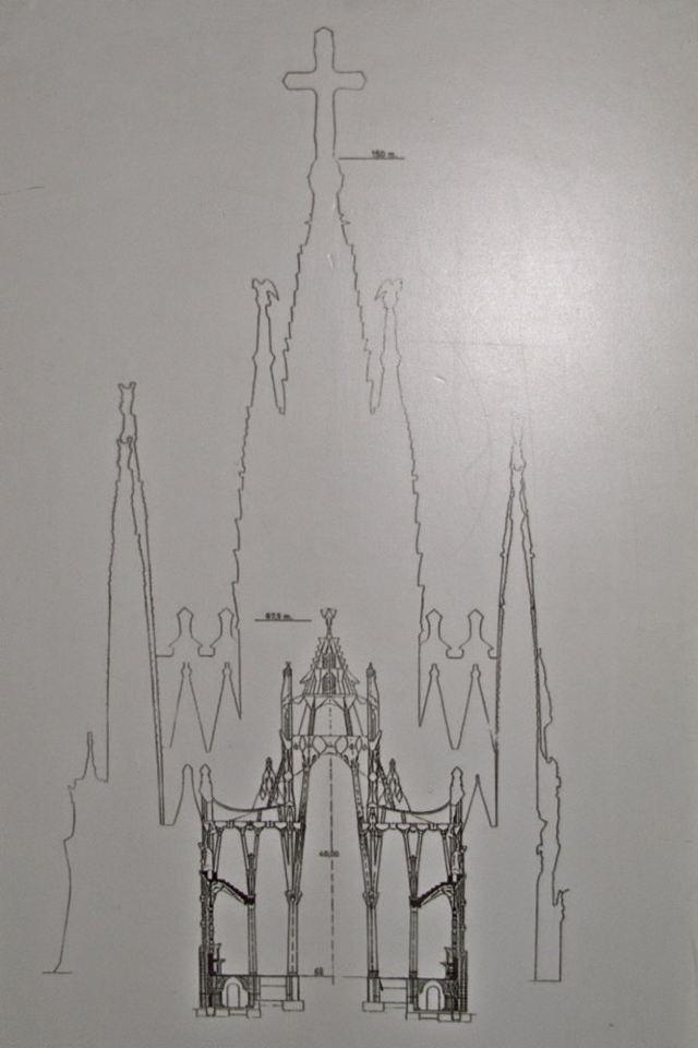 简单高塔素描图片