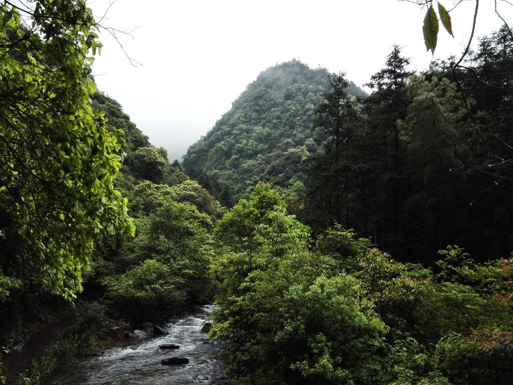 江永白鹤山景区