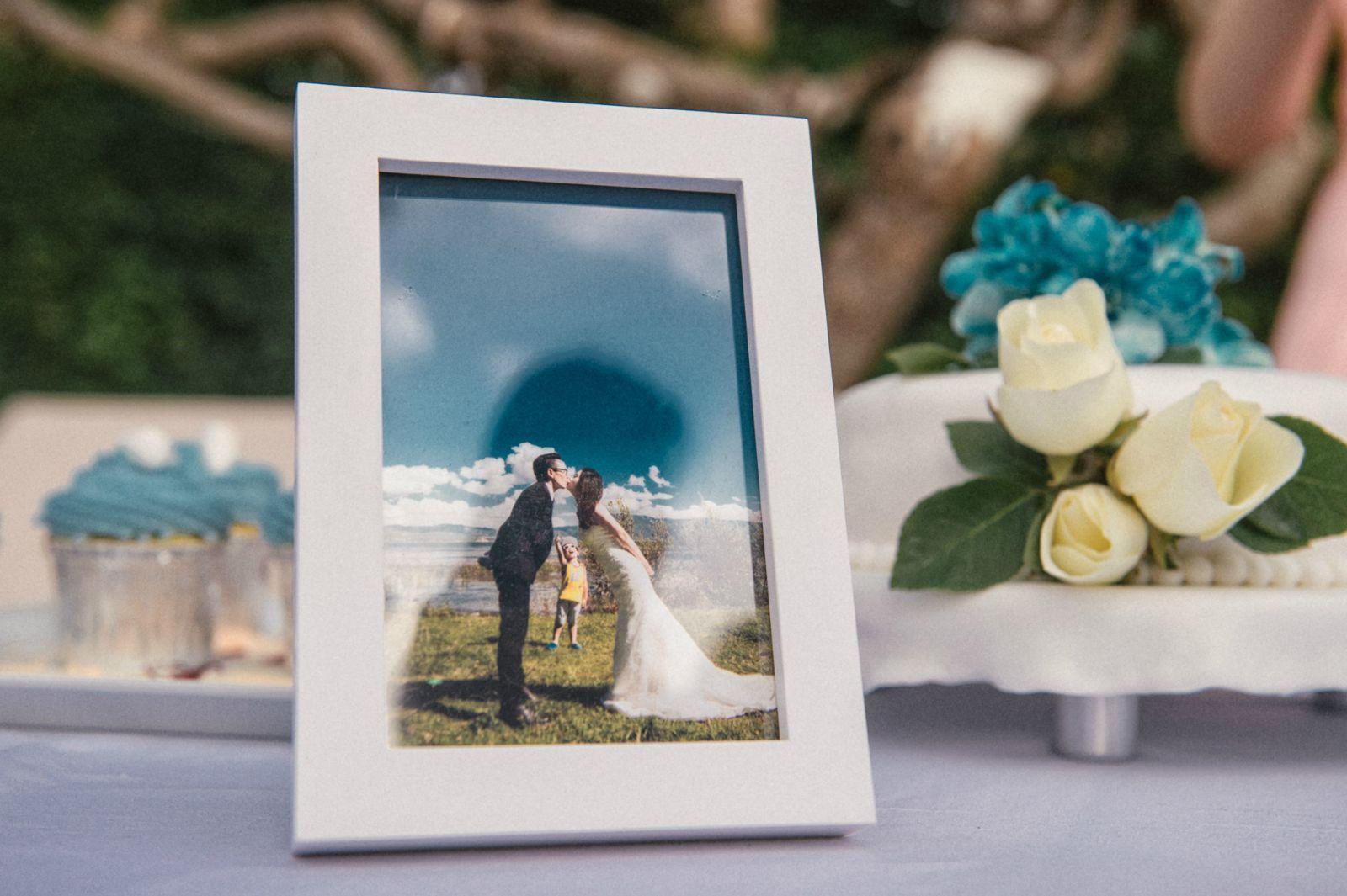 我们的diy海岛婚礼