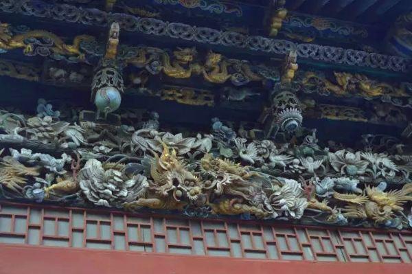 中国木棍结构建筑