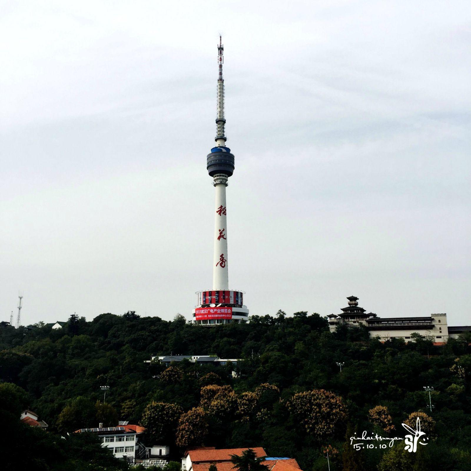 电视塔,在龟山上
