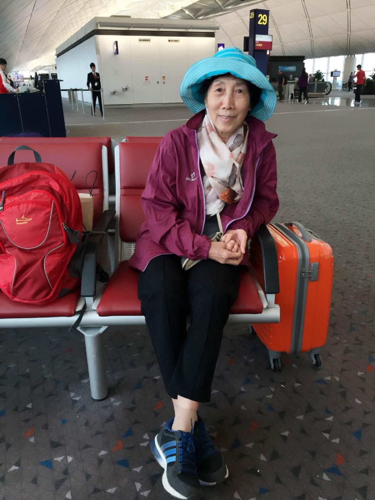 蛇口港的香港机场登机口办理行李托运