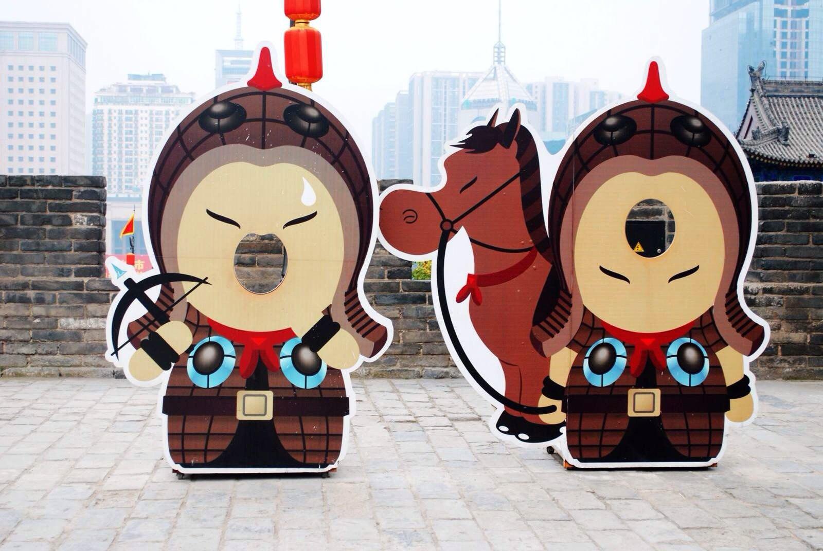 陕北年夜饭卡通图片