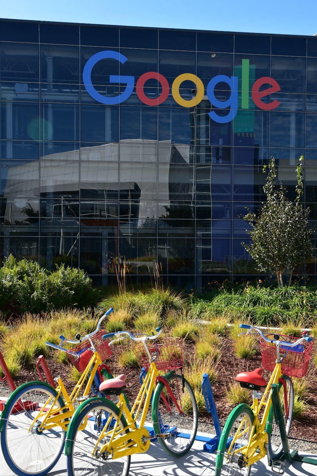 美国真是有地皮啊 谷歌总部