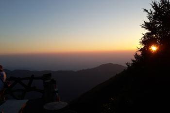 衡山南岳v攻略攻略,搭帐篷上祝融峰观景台看夕与火攻略道魔图片