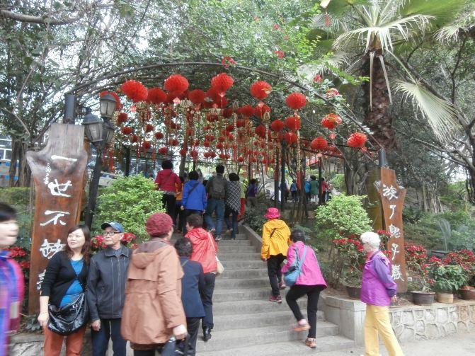 10月错峰独游广西厦门出发武汉市区象山公园桂林v公园攻略5天图片