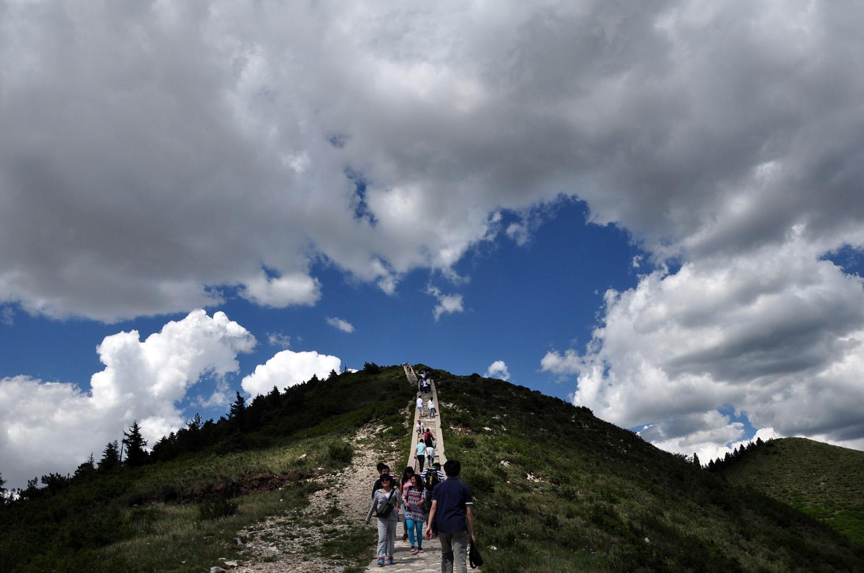 北岳恒山登山路线: 恒山其实不高