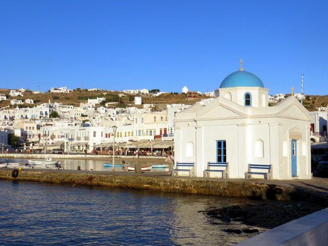 希腊旅行日记10 米克诺斯岛
