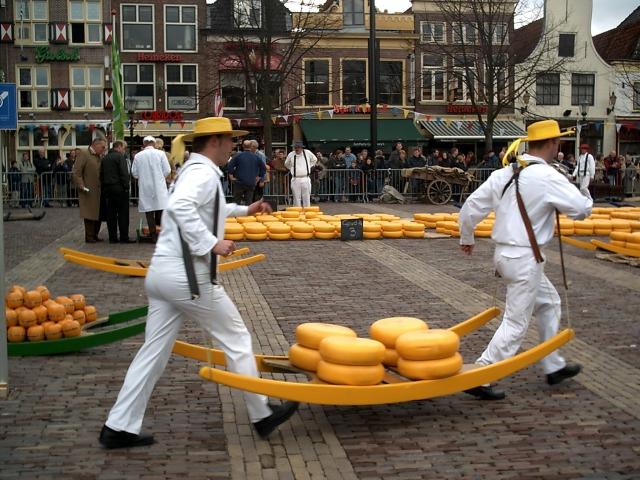 阿克马乳酪市场  Alkmaar cheese market   -0