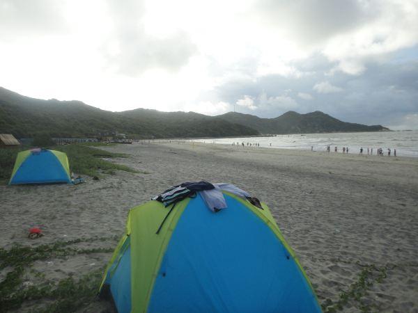 2012年7月7号珠海荷包岛露营两天自助游